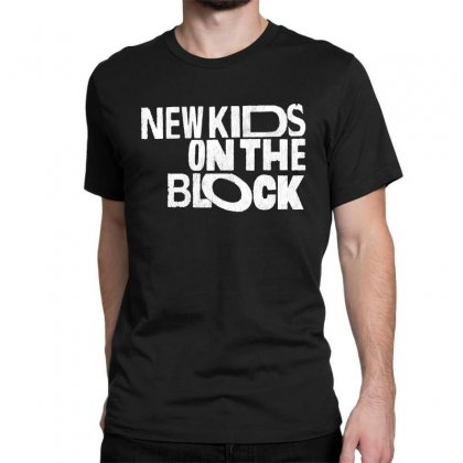 New Kids Shirt On The Block Classic T-shirt Designed By Allison Serenity