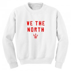 we the north Youth Sweatshirt | Artistshot