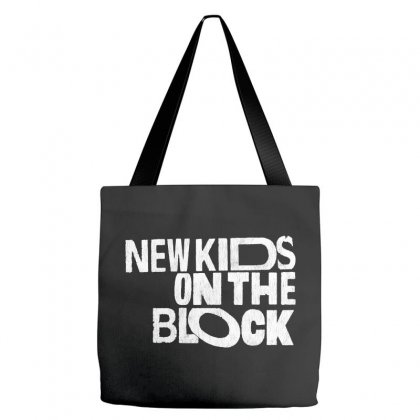 New Kids Shirt On The Block Tote Bags Designed By Allison Serenity