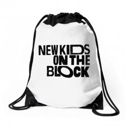 new kids shirt on the block Drawstring Bags | Artistshot