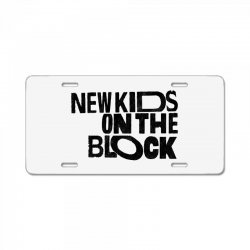 new kids shirt on the block License Plate | Artistshot
