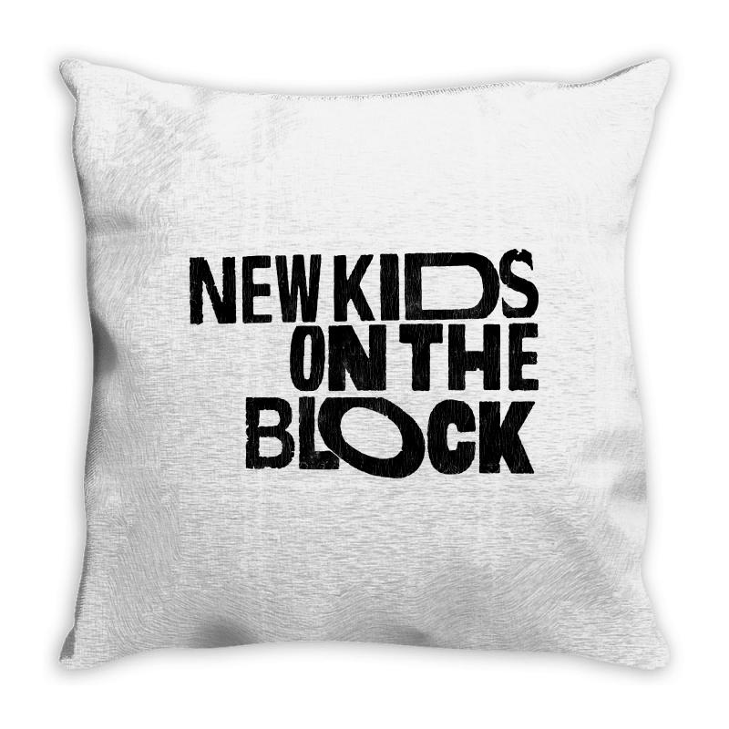 New Kids Shirt On The Block Throw Pillow | Artistshot
