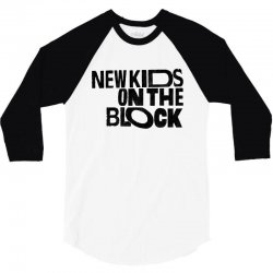 new kids shirt on the block 3/4 Sleeve Shirt | Artistshot