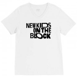 new kids shirt on the block V-Neck Tee | Artistshot