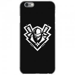 ninja white iPhone 6/6s Case | Artistshot