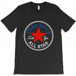 punk rock all star for dark T-Shirt | Artistshot