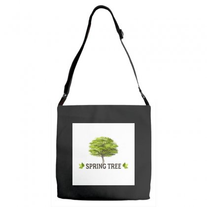 Spring Tree Adjustable Strap Totes Designed By Trees