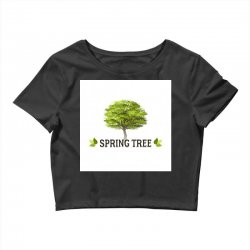 spring tree Crop Top | Artistshot