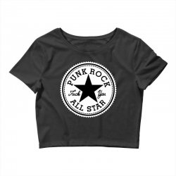 punk rock all star Crop Top | Artistshot