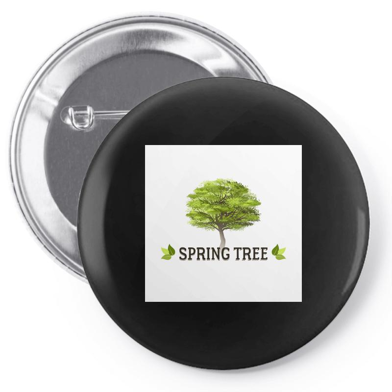 Spring Tree Pin-back Button | Artistshot