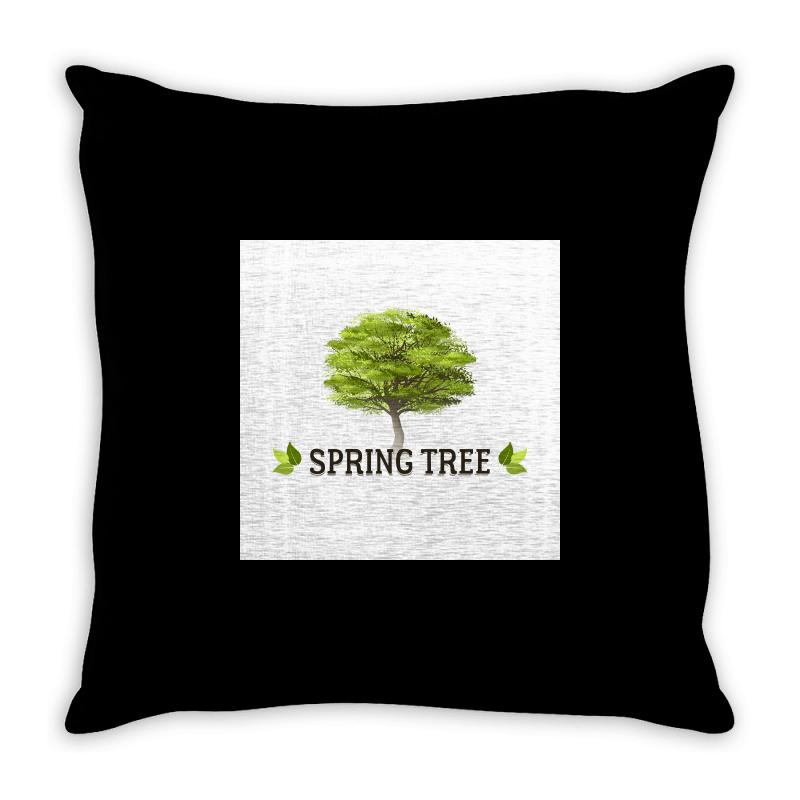 Spring Tree Throw Pillow | Artistshot