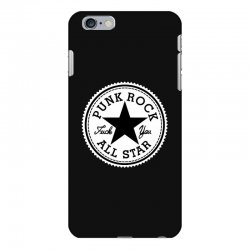 punk rock all star iPhone 6 Plus/6s Plus Case | Artistshot