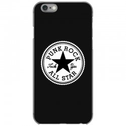 punk rock all star iPhone 6/6s Case | Artistshot
