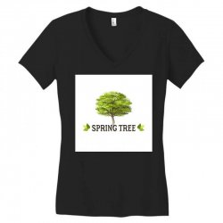 spring tree Women's V-Neck T-Shirt | Artistshot