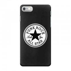 punk rock all star iPhone 7 Case | Artistshot