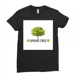 spring tree Ladies Fitted T-Shirt | Artistshot