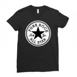 punk rock all star Ladies Fitted T-Shirt | Artistshot