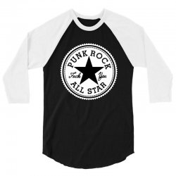 punk rock all star 3/4 Sleeve Shirt | Artistshot