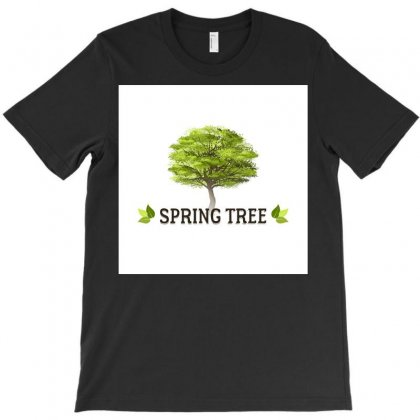 Spring Tree T-shirt Designed By Trees