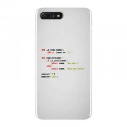 python code   i am cool iPhone 7 Plus Case | Artistshot