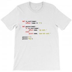 python code   i am cool T-Shirt | Artistshot
