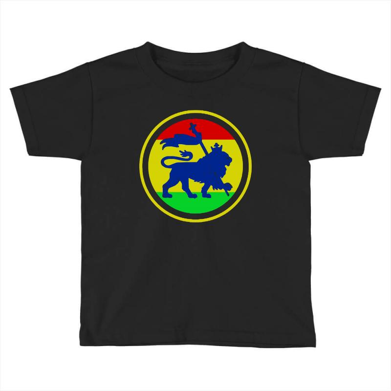 Rasta Flag Lion Toddler T-shirt | Artistshot