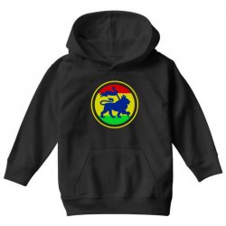 rasta flag lion Youth Hoodie | Artistshot