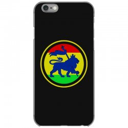 rasta flag lion iPhone 6/6s Case | Artistshot