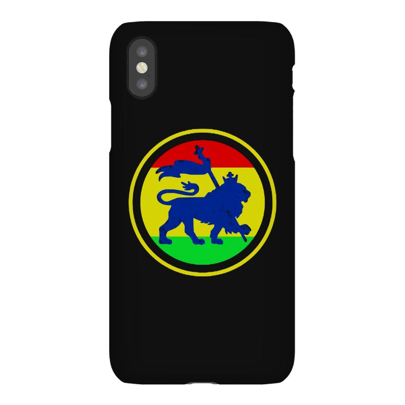 Rasta Flag Lion Iphonex Case | Artistshot
