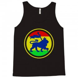 rasta flag lion Tank Top | Artistshot