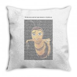 bee movie script Throw Pillow | Artistshot