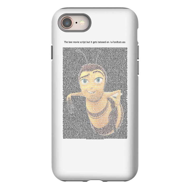 Bee Movie Script Iphone 8 Case | Artistshot