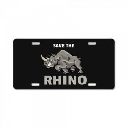 save the chubby unicorn License Plate | Artistshot