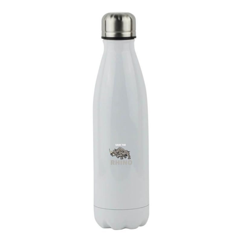 Save The Chubby Unicorn Stainless Steel Water Bottle | Artistshot