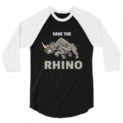 save the chubby unicorn 3/4 Sleeve Shirt | Artistshot