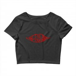 save the drama for your mama Crop Top | Artistshot
