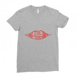 save the drama for your mama Ladies Fitted T-Shirt | Artistshot