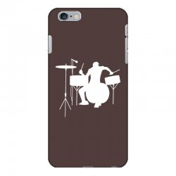 drums heartbeat   funny drummer iPhone 6 Plus/6s Plus Case | Artistshot