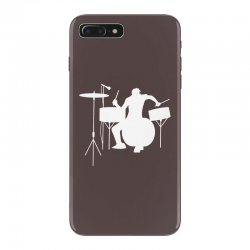 drums heartbeat   funny drummer iPhone 7 Plus Case | Artistshot
