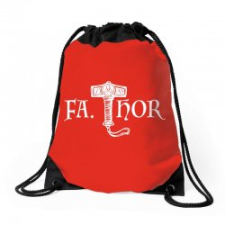 fa thor like dad just way Drawstring Bags | Artistshot