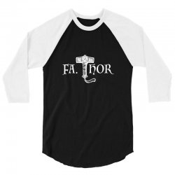 fa thor like dad just way 3/4 Sleeve Shirt | Artistshot