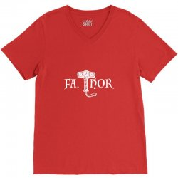 fa thor like dad just way V-Neck Tee | Artistshot