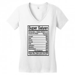super saiyan goku power level Women's V-Neck T-Shirt | Artistshot