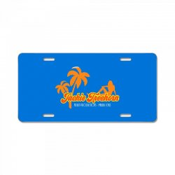 jackie treehorn productions License Plate | Artistshot