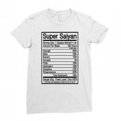 super saiyan goku power level Ladies Fitted T-Shirt | Artistshot