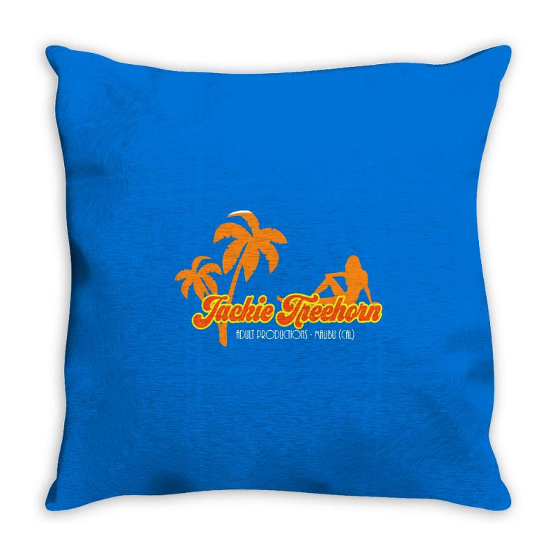 Jackie Treehorn Productions Throw Pillow | Artistshot