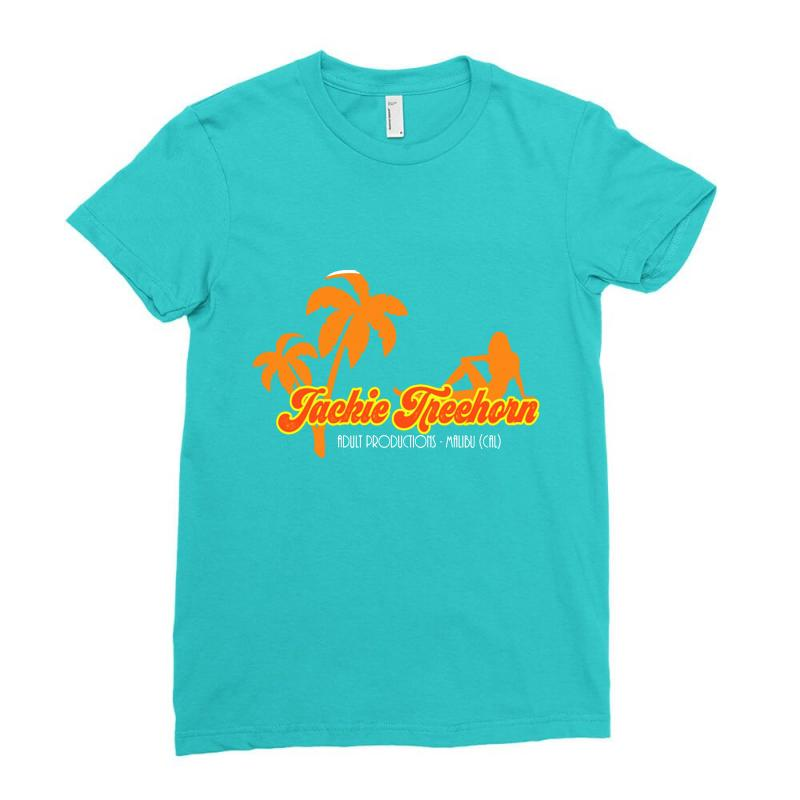 Jackie Treehorn Productions Ladies Fitted T-shirt | Artistshot