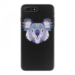 geometric koala funny animal t shirts iPhone 7 Plus Case | Artistshot