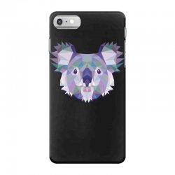 geometric koala funny animal t shirts iPhone 7 Case | Artistshot