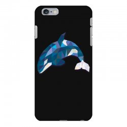geometric orca whale funny animal t shirts iPhone 6 Plus/6s Plus Case | Artistshot